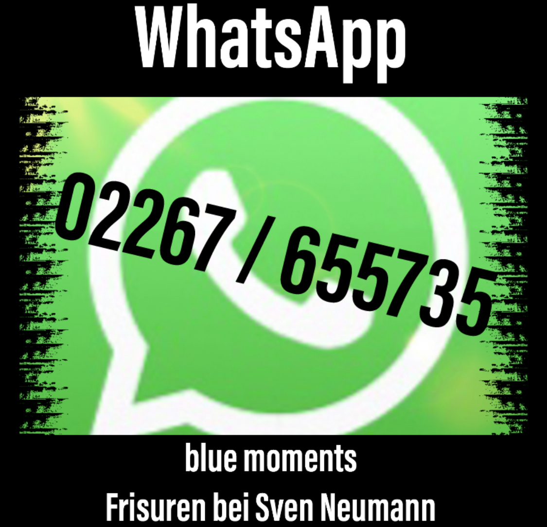 WhatsApp & blue moments